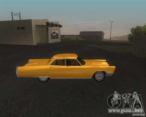 Cadillac Fleetwood Sixty Special 1967 para GTA San Andreas vista posterior izquierda