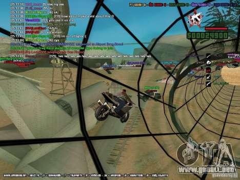 SA:MP 0.3d para GTA San Andreas twelth pantalla