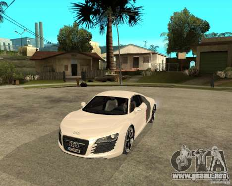 Audi R8 light tunable para GTA San Andreas