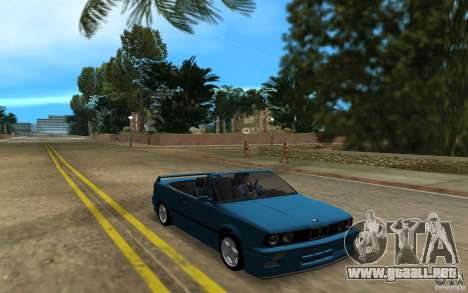 BMW M3 E30 Cabrio para GTA Vice City left