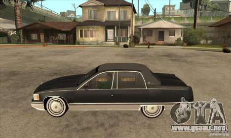 Cadillac Fleetwood 1993 para GTA San Andreas left