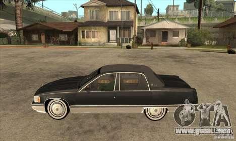 Cadillac Fleetwood 1993 para GTA San Andreas left
