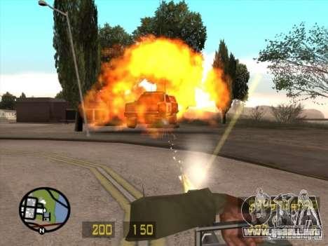 Como el Counter Strike para GTA San Andreas para GTA San Andreas sucesivamente de pantalla
