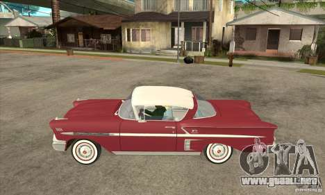 Chevrolet Impala 1958 para GTA San Andreas left