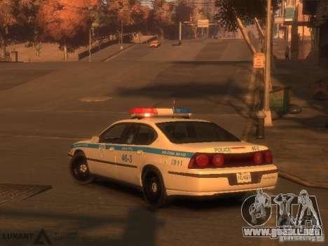 Chevrolet Impala Police 2003 para GTA 4 left
