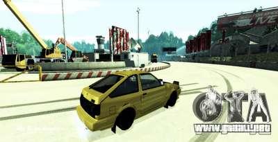 Miytomi para GTA San Andreas tercera pantalla