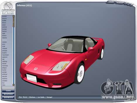 GGMM v2.3 para GTA San Andreas tercera pantalla