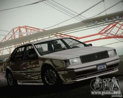 GTA IV Primo para la visión correcta GTA San Andreas