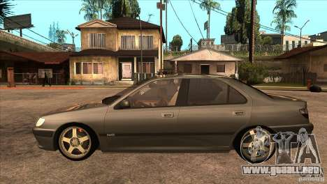 Peugeot 406 v1 para GTA San Andreas left