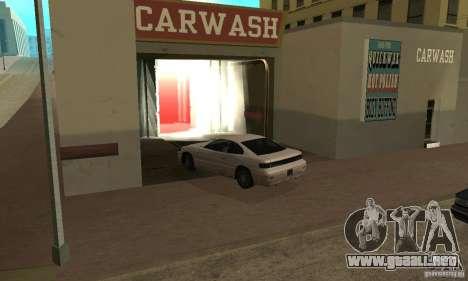 Lavado de coches para GTA San Andreas
