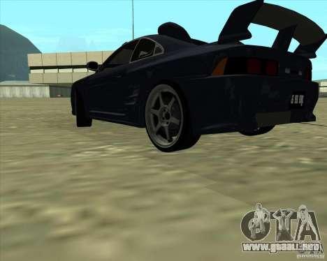 Toyota MR2 1994 para vista lateral GTA San Andreas