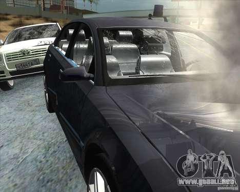 Audi A8L W12 para vista lateral GTA San Andreas