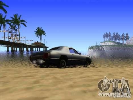 ENBseies v 0.075 para los equipos débiles para GTA San Andreas sucesivamente de pantalla