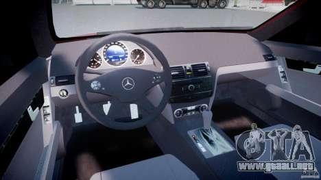 Mercedes-Benz C 280 T-Modell/Estate para GTA 4 visión correcta