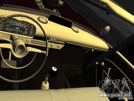Plymouth Savoy Club Sedan 1957 Dragster Final para GTA 4 vista superior