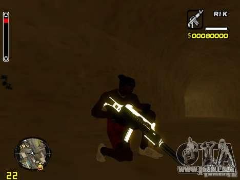 White and Black weapon pack para GTA San Andreas quinta pantalla