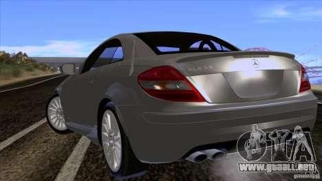 Mercedes-Benz SLK 55 AMG para la visión correcta GTA San Andreas