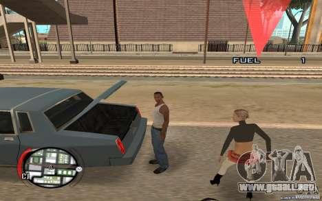 Hide Victim para GTA San Andreas segunda pantalla