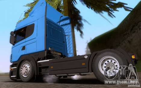 Scania R500 para GTA San Andreas left