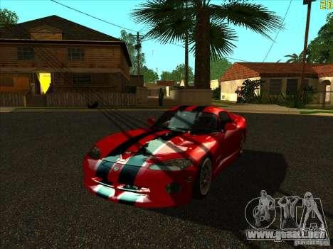 ENBSeries v1.6 para GTA San Andreas sucesivamente de pantalla