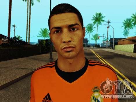 Cristiano Ronaldo v3 para GTA San Andreas sexta pantalla