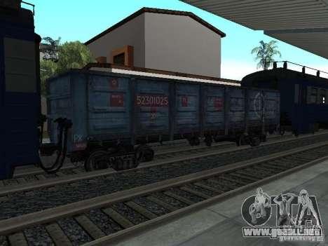 Tem2um-248 + Gondola freight company para GTA San Andreas vista hacia atrás