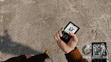 El tema de Mercenaries 2 para teléfonos móviles para GTA 4 segundos de pantalla