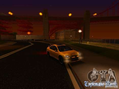 Dodge Neon SRT4 2006 para la vista superior GTA San Andreas