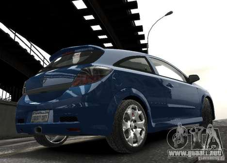 Opel Astra OPC para GTA 4 vista interior