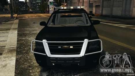 Chevrolet Avalanche 2007 [ELS] para GTA 4 interior