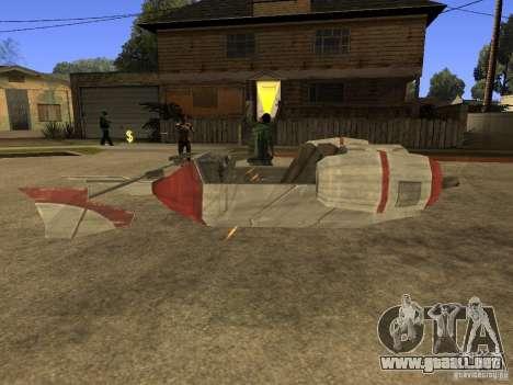 Equipaje de Star Wars para la visión correcta GTA San Andreas