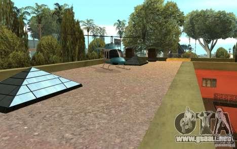 UGP Moscow New Jefferson Motel para GTA San Andreas quinta pantalla