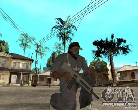 Atchisson assault shotgun (AA-12) para GTA San Andreas tercera pantalla
