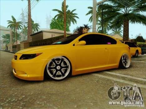 Scion tC 2012 para la visión correcta GTA San Andreas