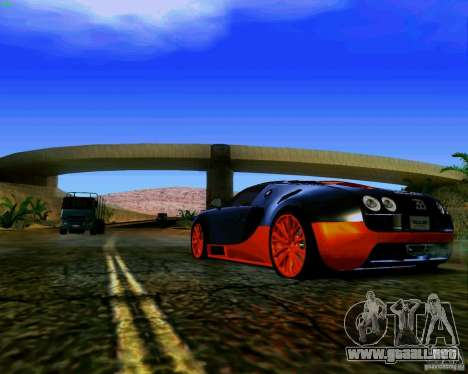 ENBSeries by S.T.A.L.K.E.R para GTA San Andreas quinta pantalla