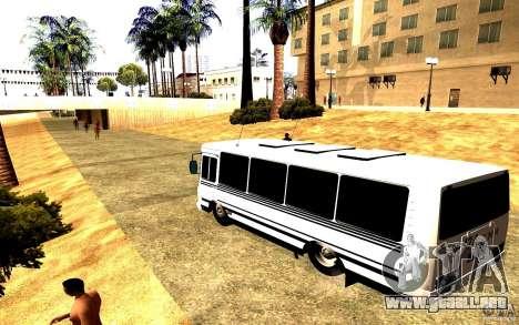 PAZ 3205 Dag para GTA San Andreas left