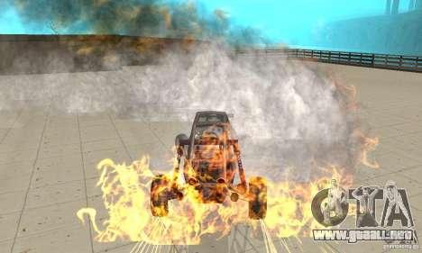 GTA FEATURE BURNOUT FIX 1.2 para GTA San Andreas tercera pantalla