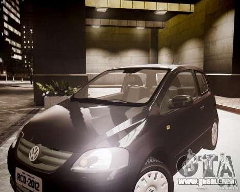 Volkswagen Fox 2011 para GTA 4 visión correcta