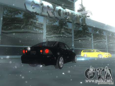 Lexus IS300 para el motor de GTA San Andreas