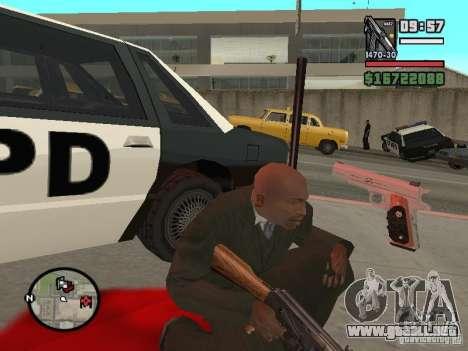 Silverballer de Hitman para GTA San Andreas tercera pantalla