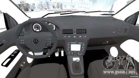 Volkswagen Golf Sportline 2011 para GTA 4 vista hacia atrás