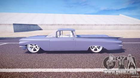 Chevrolet El Camino Custom 1959 para GTA 4 left