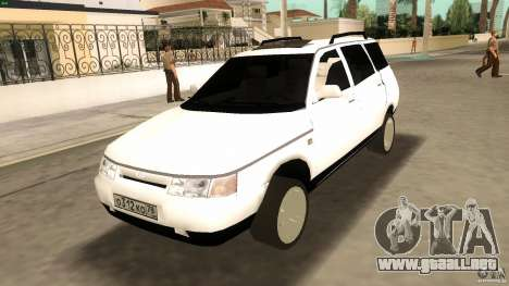 VAZ 2111 para GTA Vice City vista interior