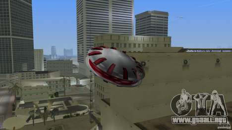 Ultimate Flying Object para GTA Vice City left