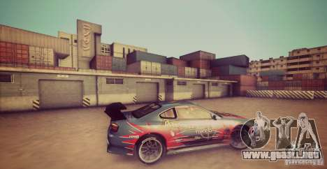 Tokyo Drift map para GTA San Andreas segunda pantalla