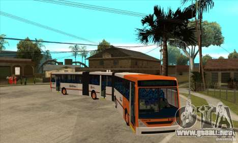 Caio Induscar Millenium II para GTA San Andreas vista hacia atrás