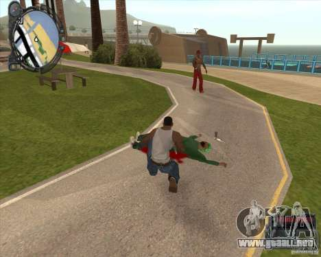 Real Weapons Drop Mod beta para GTA San Andreas