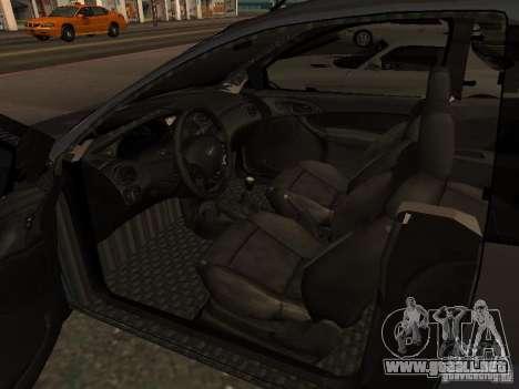 Ford Ka 1998 para GTA San Andreas vista posterior izquierda