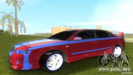 Audi A4 STREET RACING EDITION para GTA Vice City left