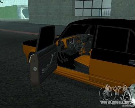 VAZ 21053 tuning para GTA San Andreas vista posterior izquierda